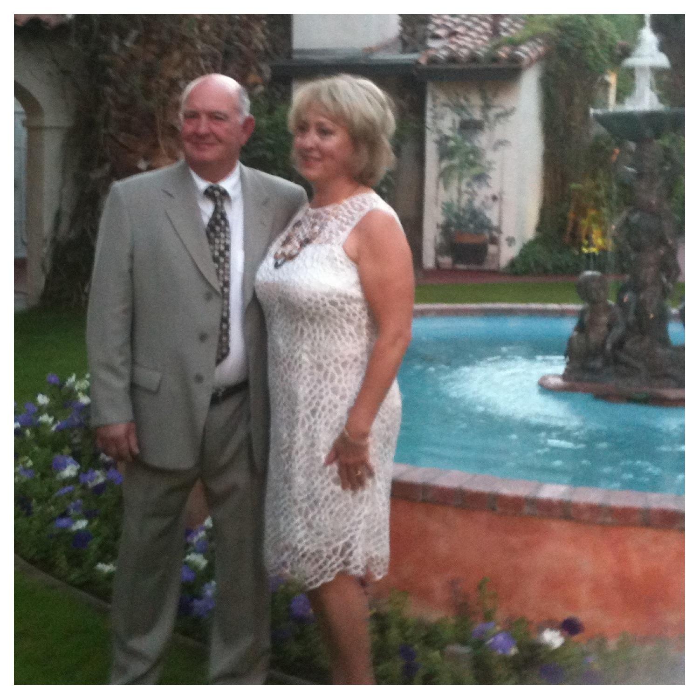 Debbie and Byron